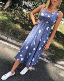 Šaty - kód 8122 - 2 - modrá