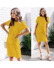 Šaty - kód 835 - žlutá
