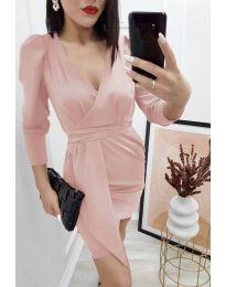Šaty - kód 0515 - pudrová