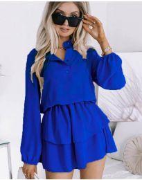 Šaty - kód 4093 - modrá