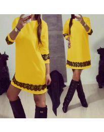 Šaty - kód 345 - žlutá