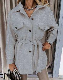 Kabát - kód 4966 - šedá