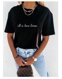 Tričko - kód 36755 - černá