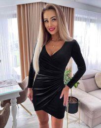 Šaty - kód 3872 - černá