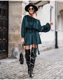 Šaty - kód 324 - tmavě zelená
