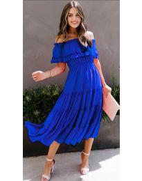 Šaty - kód 699 - tmavě modrá