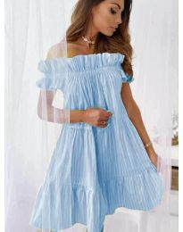 Šaty - kód 0299 - modrý