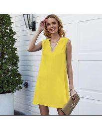 Šaty - kód 1429 - žlutá