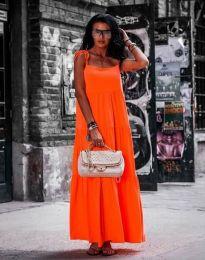 Šaty - kód 2301 - 1 - oranžová