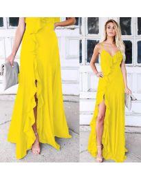Šaty - kód 4488 - žlutá