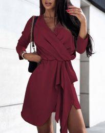 Šaty - kód 2879 - bordeaux