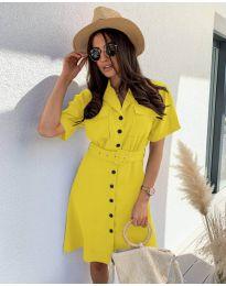 Šaty - kód 742 - žlutá
