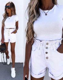 Krátké kalhoty - kód 5301 - bílá