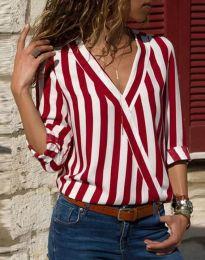 Košile - kód 5633 - 2 - červená