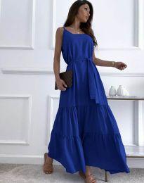 Šaty - kód 2578 - modrá
