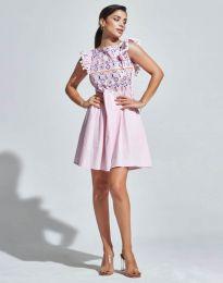 Šaty - kód 1482 - 1 - růžova
