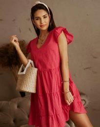 Šaty - kód 6224 - bordeaux