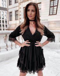 Šaty - kód 0545 - černá