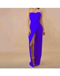 Šaty - kód 1146 - modrá