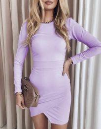 Šaty - kód 2835 - fialová