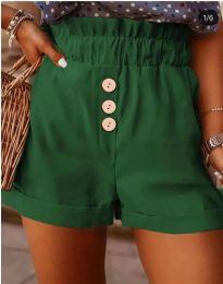 Krátké kalhoty - kód 9383 - olivová  zelená