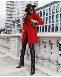 Kabát - kód 3839 - červená
