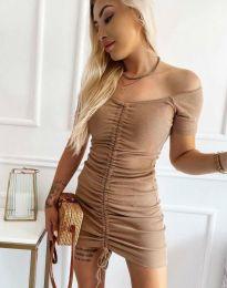 Šaty - kód 6590 - cappuccino