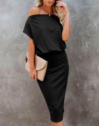 Šaty - kód 1737 - černá