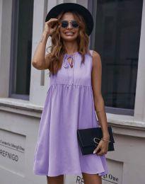 Šaty - kód 0286 - světle fialová