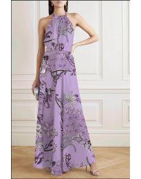 Šaty - kód 2268 - fialová