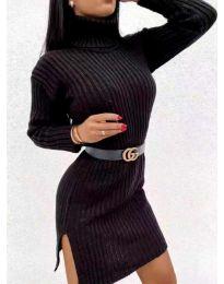 Šaty - kód 6867 - černá
