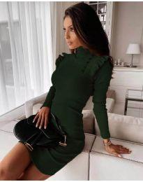 Šaty - kód 8484 - tmavě zelená