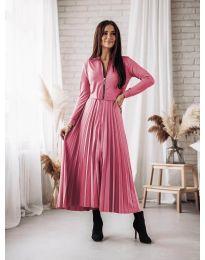 Šaty - kód 1544 - růžová