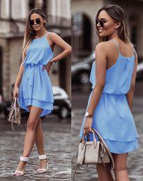Šaty - kód 2104 - světle modrá