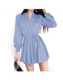Šaty - kód 8754 - modrý