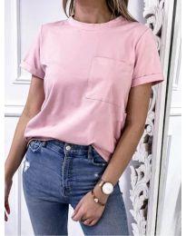 Tričko - kód 3727 - růžova