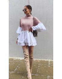 Šaty - kód 1188 - růžova
