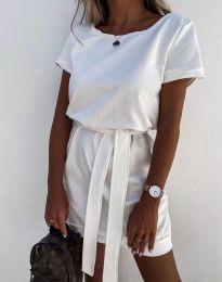 Šaty - kód 6737 - bílá