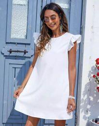 Šaty - kód 6261 - bíla