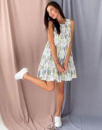 Šaty - kód 6468 - vícebarevné