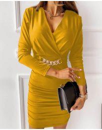 Šaty - kód 8999 - žlutá