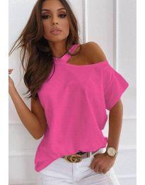 Tričko - kód 0599 - 1 - růžova