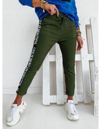 Kalhoty - kód 3062 - olivová  zelená