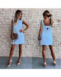 Šaty - kód 1156 - modrý