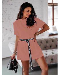 Šaty - kód 809 - pudrová