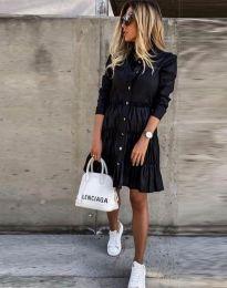 Šaty - kód 1366 - 1 - černá