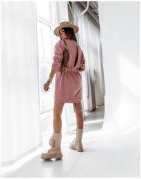 Šaty - kód 129 - pudrová