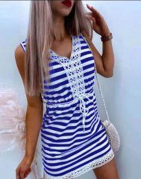 Šaty - kód 20100 - modrá