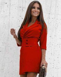 Šaty - kód 1356 - červená