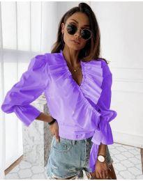 Košile - kód 1167 - fialová